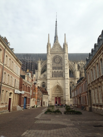 Cathedral Amiens, side view