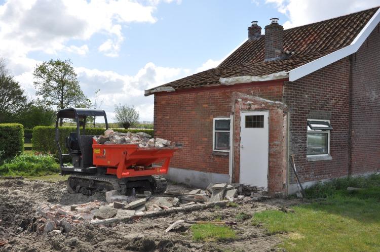 Demolition completed