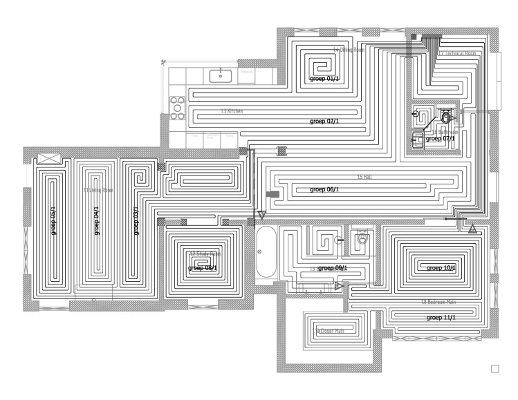 Lay Plan - ground floor