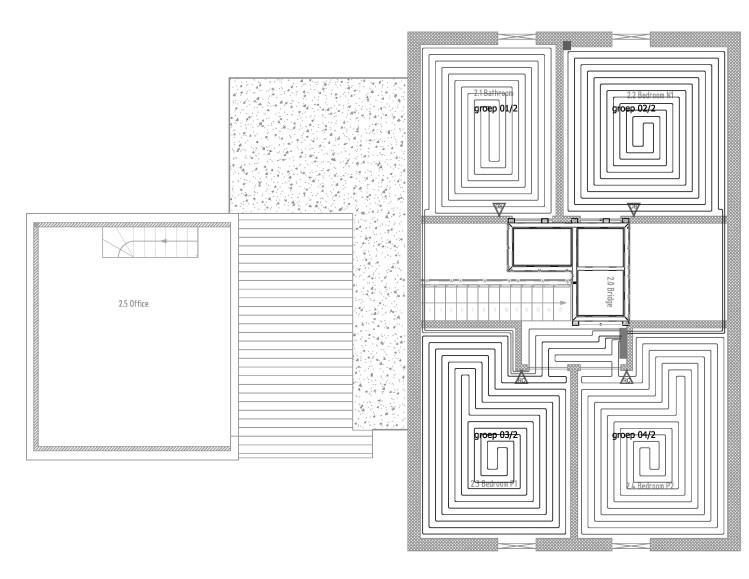 Lay Plan - upper floor